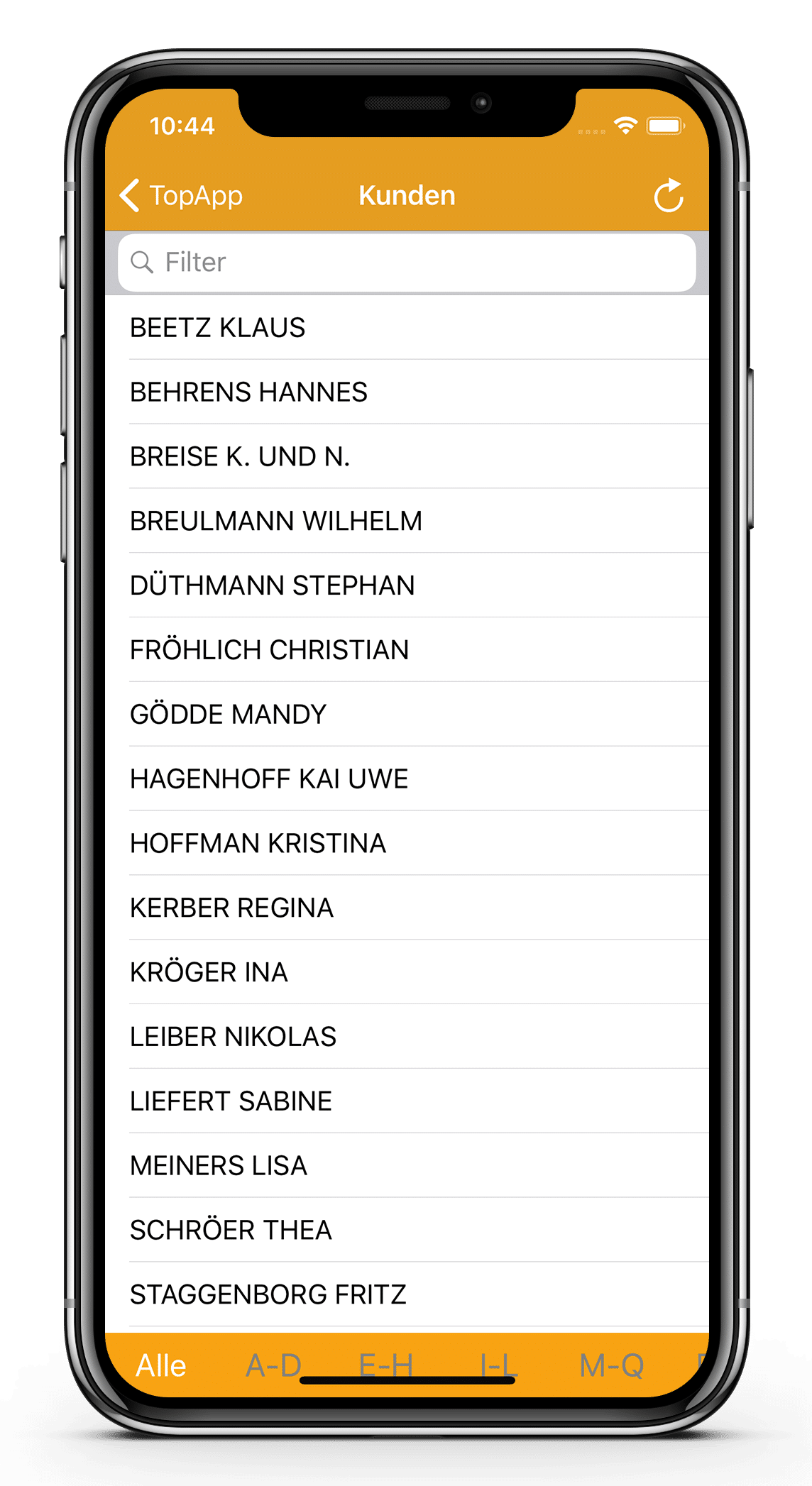 TopApp - iPhone X